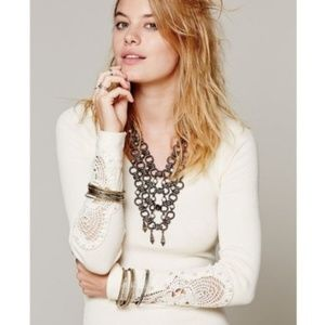 Free People Synergy Thermal Cream Long Sleeve